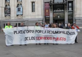 Plataforma por la remunicipalización de servicios públicos